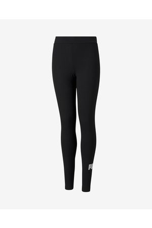 PUMA Essentials Logo Kids Leggings Black