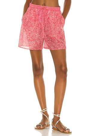 Tell Your Friends Lounge Short in - Pink. Size L (also in S, XXS, XS, M, XL).