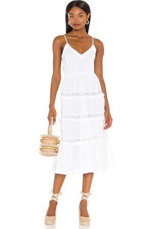 Tularosa Matt Midi Dress in - . Size L (also in XXS, XS, S, M, XL).