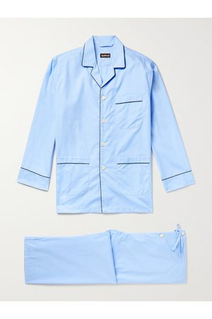 Paul Stuart Homem Pijamas - Cotton-Poplin Pyjama Set