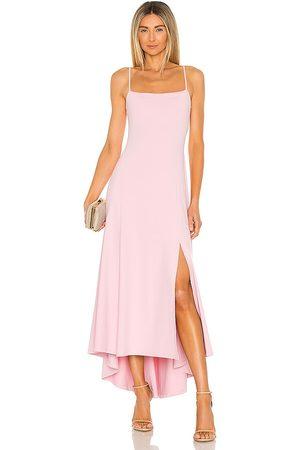 Susana Monaco Senhora Vestidos Compridos - Thin Strap Maxi Dress in - Blush. Size M (also in S).