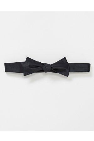 ASOS Self bow tie in black