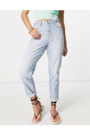 Hollister Straight leg jeans in light blue wash