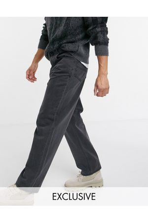 Reclaimed Vintage Inspired 90's baggy jean in washed black