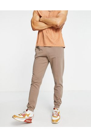 New Look Washed co-ord jogger in brown