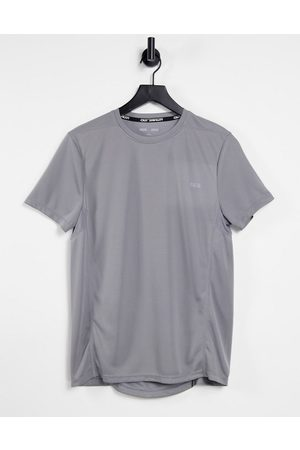 ASOS Icon training t-shirt with quick dry-Grey