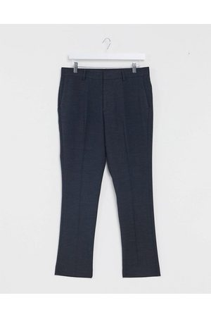 New Look Slim cropped suit trouser in navy