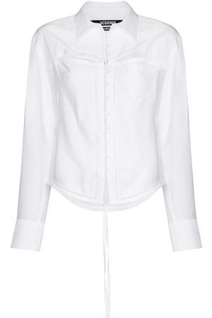 Jacquemus La chemise Nappe cut-out shirt