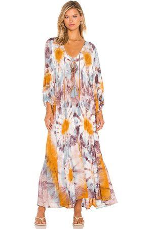 Young, Fabulous & Broke Senhora Vestidos - Dawn Dress in - Mauve. Size L (also in XS, S, M).