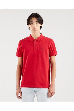 Levi's Homem T-shirts & Manga Curta - Standard Housemarked Polo T-shirt Red