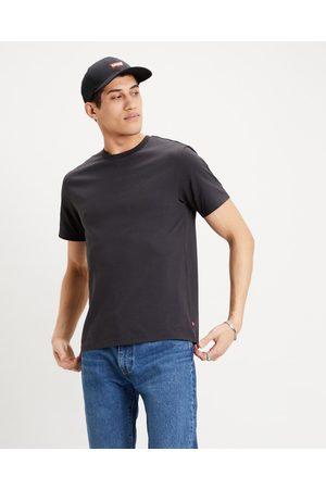 Levi's Homem T-shirts & Manga Curta - Housemark Graphic T-shirt Black