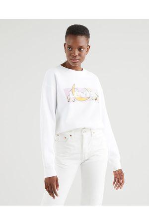 Levi's Standard Graphic Sweatshirt White