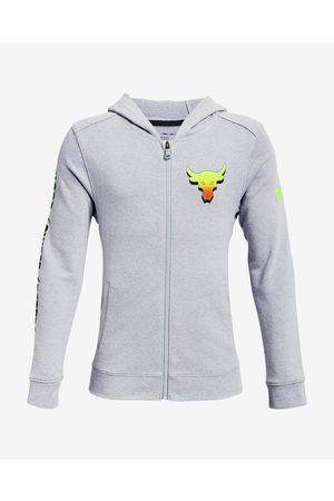 Under Armour Project Rock Kids Sweatshirt Grey