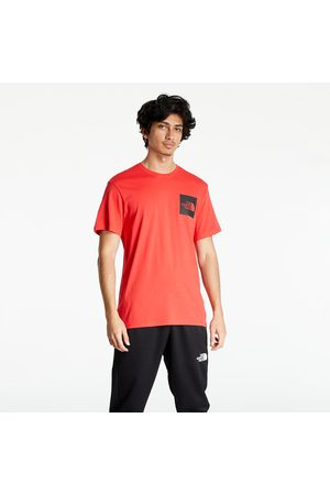The North Face Fine TEE Horizon Red