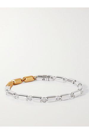 LE GRAMME Homem Pulseiras - 27g Sterling and 18-Karat Gold Cable Bracelet