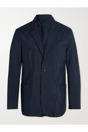 Dunhill Unstructured Cotton-Blend Blazer