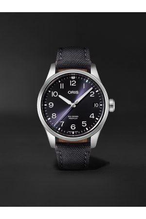ORIS Big Crown ProPilot Big Date Automatic 41mm Stainless Steel and Canvas Watch, Ref. No. 01 751 7761 4065-07 3 20 05LC
