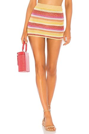 Lovers + Friends Sunset Sweater Skirt in - Yellow. Size L (also in XL).