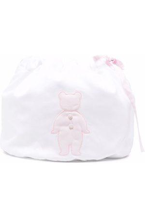 LITTLE BEAR Embroidered drawstring bag