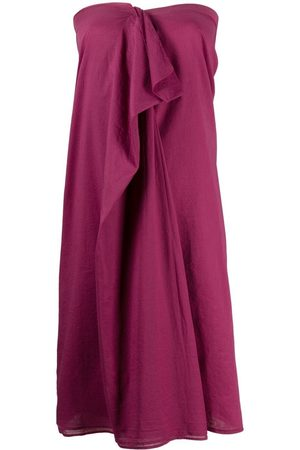 Maison Martin Margiela 2000s ruffled detailing strapless dress