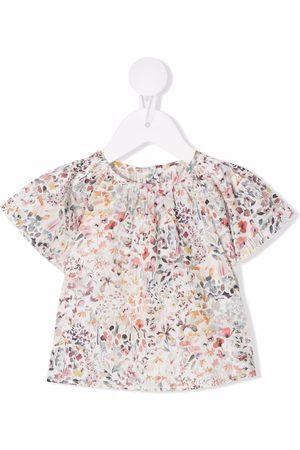 Zhoe & Tobiah Floral-print cotton T-shirt