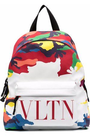 VALENTINO GARAVANI Homem Mochilas - Camou7 print logo backpack