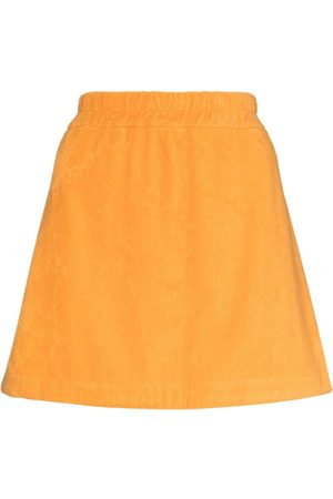 TERRY Isola embroidered-shell miniskirt