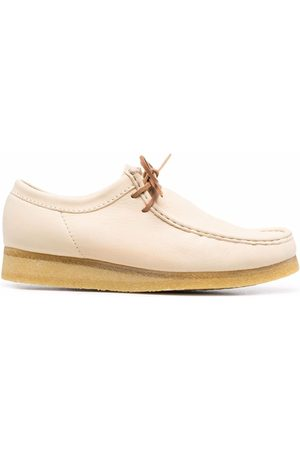 Clarks Wallabee lace-up leather shoes
