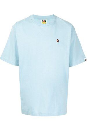 A Bathing Ape Monkey patch cotton T-shirt