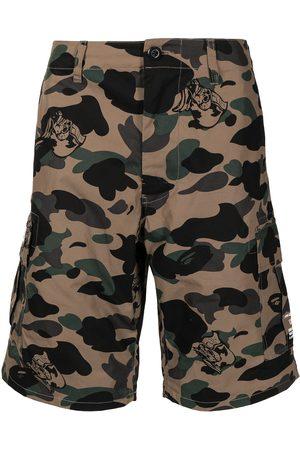 A Bathing Ape Camouflage-print cargo shorts