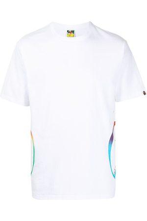 A Bathing Ape Shark teeth-print T-shirt