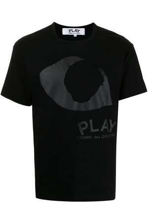 Comme des Garçons Eye-print cotton T-shirt