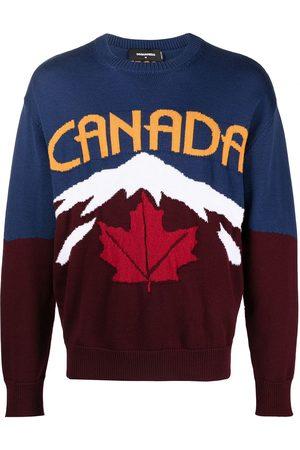 Dsquared2 Intarsia-knit jumper