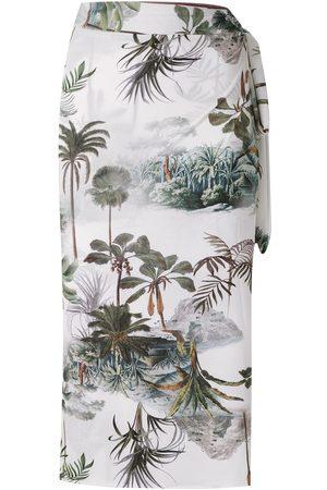Lygia & Nanny Orixá printed sarong