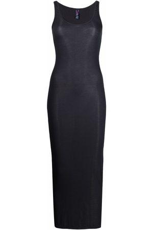 MAISON CLOSE Senhora Vestidos Lápis - Ribbed fitted maxi dress
