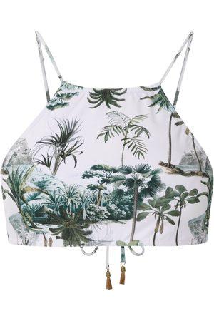Lygia & Nanny Ilana crop bikini top