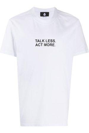 DUOltd Printed slogan cotton T-shirt