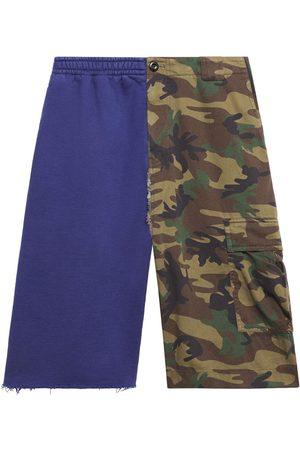 Balenciaga Two-tone cargo shorts