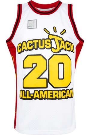 Travis Scott X McDonald's Cactus Jack All American tank top