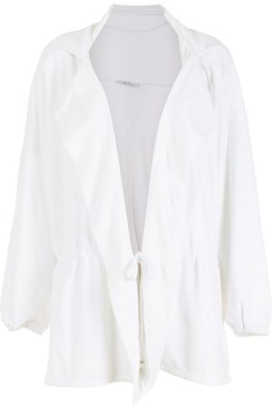 Amir Slama Slouch hooded elastic-waist coat