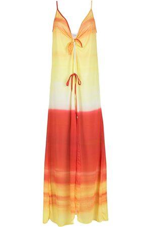 AMIR SLAMA Senhora Vestidos de Praia - Ombre-effect beach dress