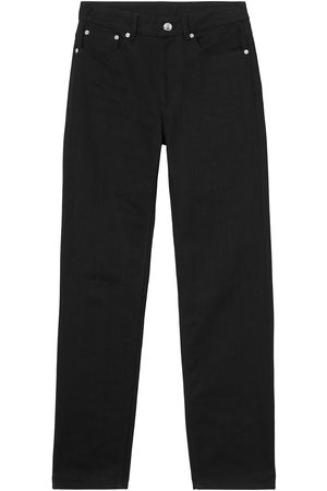 Burberry Logo-print straight-leg jeans