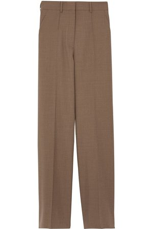 Burberry Wide-leg wool trousers