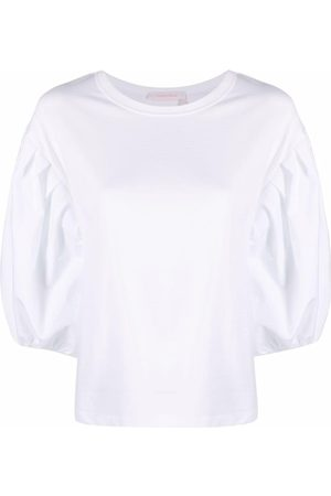 See by Chloé Puff-sleeved cotton blouse