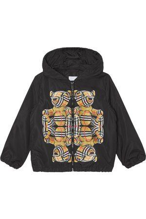 Burberry Thomas Bear print ECONYL® hooded jacket