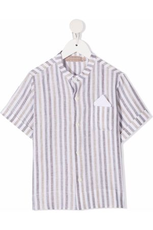LA STUPENDERIA Menino Manga curta - Stripe-print short-sleeved shirt