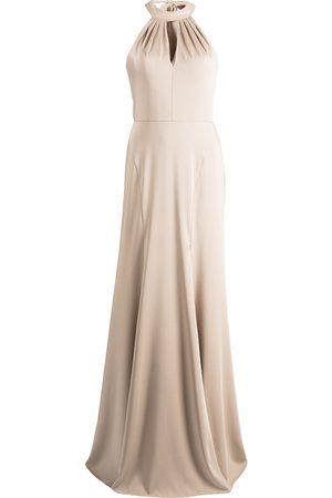 Marchesa Notte Afton halterneck dress