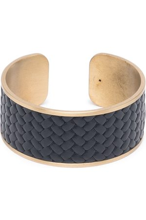 Pinetti Woven-leather napkin ring