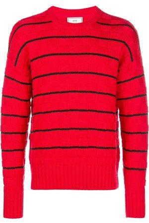 Ami Striped Oversized Sweater