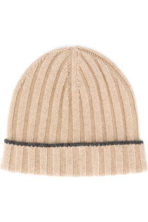Brunello Cucinelli Homem Chapéus - Ribbed knit beanie